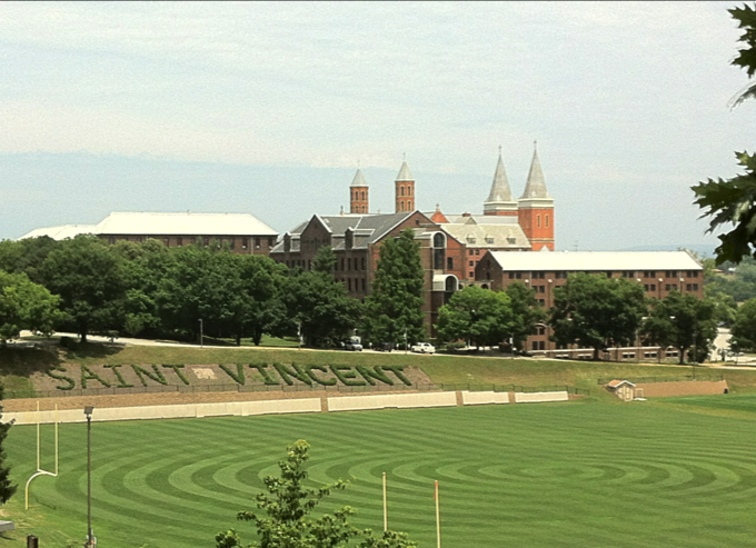 20120708 saint vincent field 10 Most Conservative Colleges in The United States